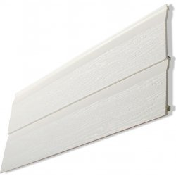 300 mm Double -  Kavex Embossed Cladding - White