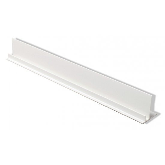 Starter Trim with Batten Cover for Kavex Cladding - White