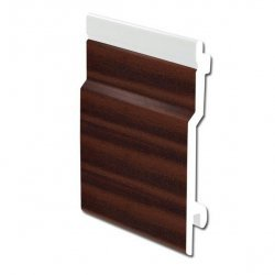 Mahogany uPVC Open-V Cladding 100mm