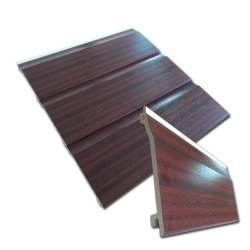 Mahogany uPVC 5m Shiplap Cladding 150mm
