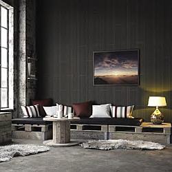 Dark Grey Internal Wall Panels (Matte) Decor Panel Havanna Silver - 2.6mtr x 250mm x 7.5mm x 4 Pack
