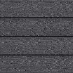 Anthracite Grey (RAL 7016) Single Siding Embossed Cladding 167mm