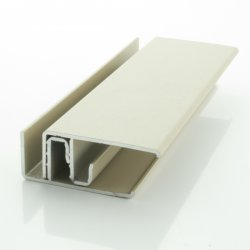 Light Grey (RAL 7035) Two-Part Lacquered Aluminium Edge Trim