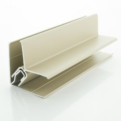 Light Grey (RAL 7035) Two-Part Lacquered Aluminium Internal External Corner