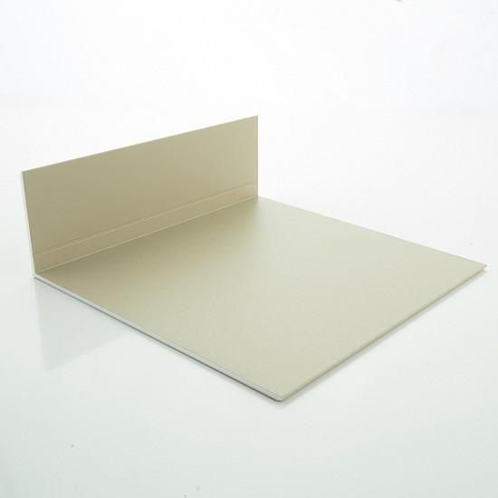 Camel/Cedar Lacquered Aluminium Corner Profile 50mm x 100mm