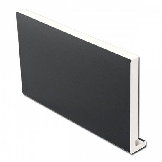 Dark Grey Fascia Board - 16mm x 405mm x 5m - RAL 7016, uPVC