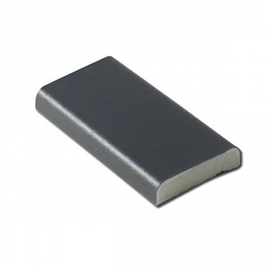 Dark Grey 25mm D-Section - RAL 7016 - uPVC