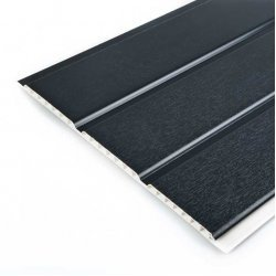 Anthracite Grey Hollow Soffit