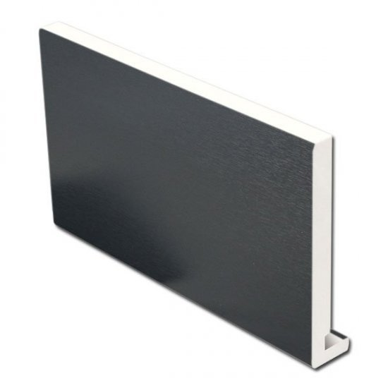 Anthracite Grey Full Replacement Fascia Board 16mm 175mm x 2.5m | uPVC
