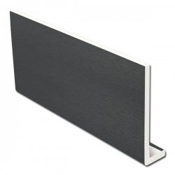 Anthracite Grey Reveal Liner uPVC 9 mm X 400 mm X 1.2 m