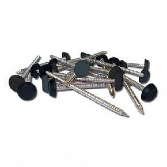 Dark Grey - Polypins and Nail - 65mm