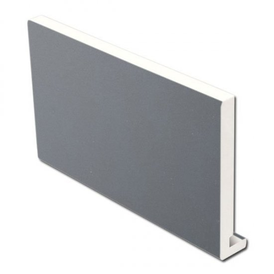16mm 405mm x 5m Fascia Board Slate Grey