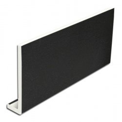 150mm x 5m Black Fascia Board