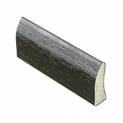 20mm Edge Fillet Trim - Black Ash - uPVC