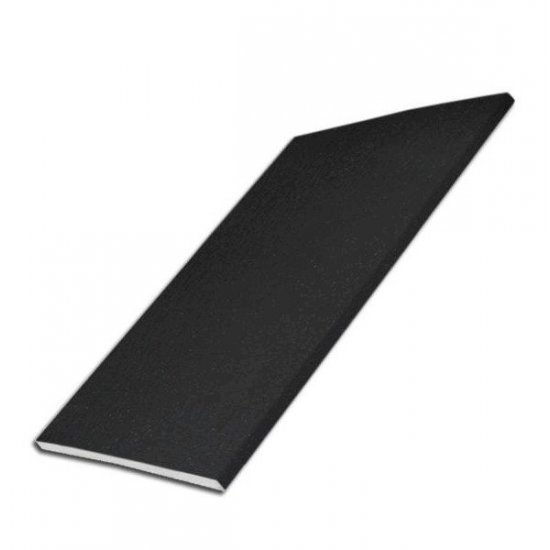 250mm x 5m UPVC Black Ash Soffit - Flat Board