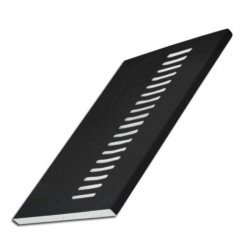 200mm x 9mm x 5m Vented Soffit Board - Anthracite Grey RAL 7016 uPVC