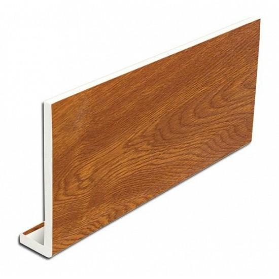 Oak Fascia Cover Board 400mm x 5m PVC