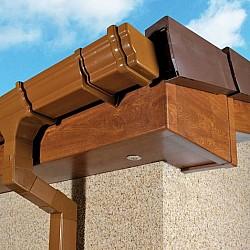 16mm Light Oak uPVC Fascia Boards - 175mm x 5m