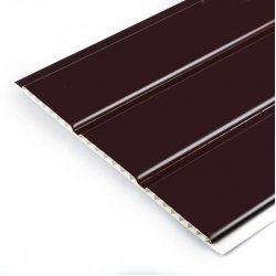 300 mm Hollow Soffit Board Brown