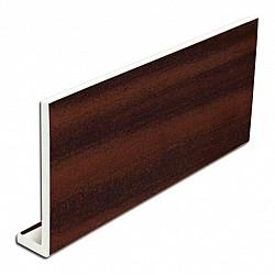 9mm 175mm x 5m uPVC Mahogany Fascia Cover Board