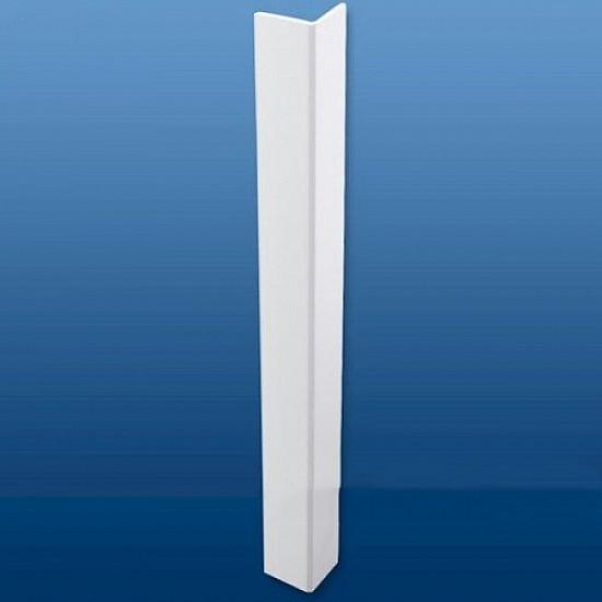 25mm (2mm) x 25mm (3mm) Plastic UPVC Rigid Angle 2.5m