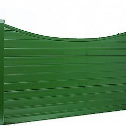 PVCu Plastic Concave Min 150mm High Decorative Gravel Boards