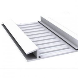 H Soffit Roof Vent Strip - White