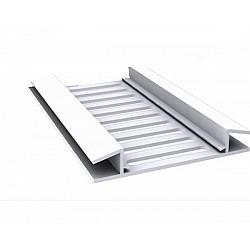 H Soffit Roof Vent Strip - White