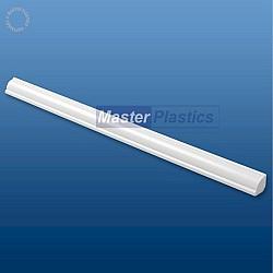 White Kestrel 12mm uPVC Ogee Quadrant