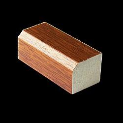 Light Oak 20mm x 22mm uPVC Square Fillet