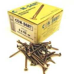 Con-Sert 4mm x 45mm Multipurpose Screws