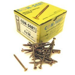 Con-Sert 4mm x 50mm Multipurpose Screws