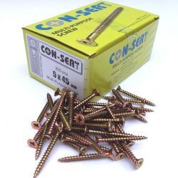Con-Sert 5mm x 45mm Multipurpose Screws