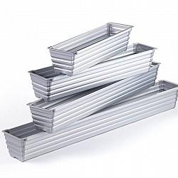 Aluminium Flower Boxes For Acrylic Railings