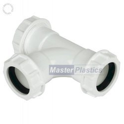32mm Waste Pipe Tee