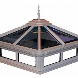 1250mm x 1250mm Made to Measure Glass Flat Roof Window Lights