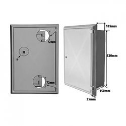 Electricity Recessed Meter Box (BS 8567-2012)