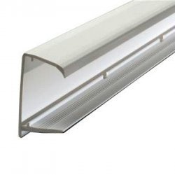 25mm Polycarbonate Sheet end Closures 2.1m - White or Brown