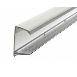 25 mm / 35 mm Polycarbonate Roof Sheet Closure - White or Brown