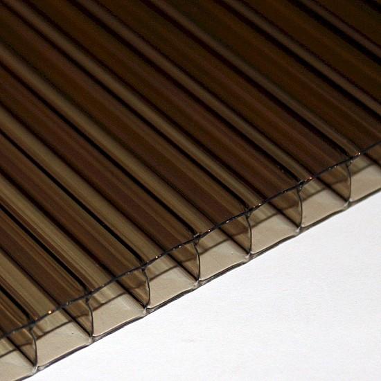 10 mm X 1400 mm X 2500 mm Bronze Twin Wall