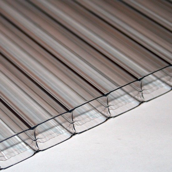 Clear Polycarbonate Sheet 16mm x 600mm x 4000mm