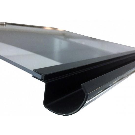 Door Canopy Anthracite Grey Light Line Extra Exclusive 1500 Wide