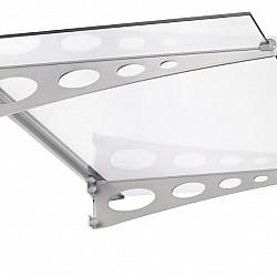 1500mm Flat Glass Door Canopy