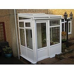Porch + Lean To Roof 2.5m X 1.5m