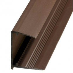10mm Sheet End Closure - Brown