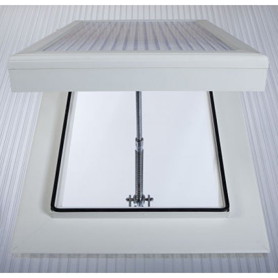Conservatory Roof Vent White - For 16 mm Polycarbonate