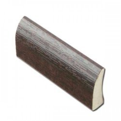 20mm Edge Fillet Trim - Mahogany - uPVC