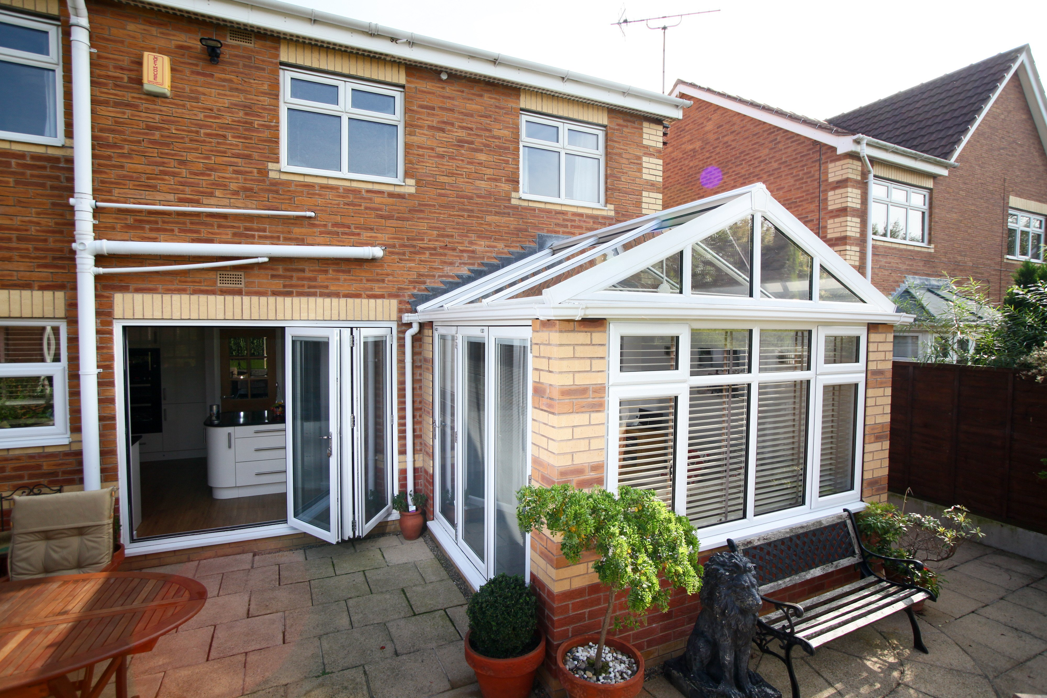 Gable Conservatory Roof.
