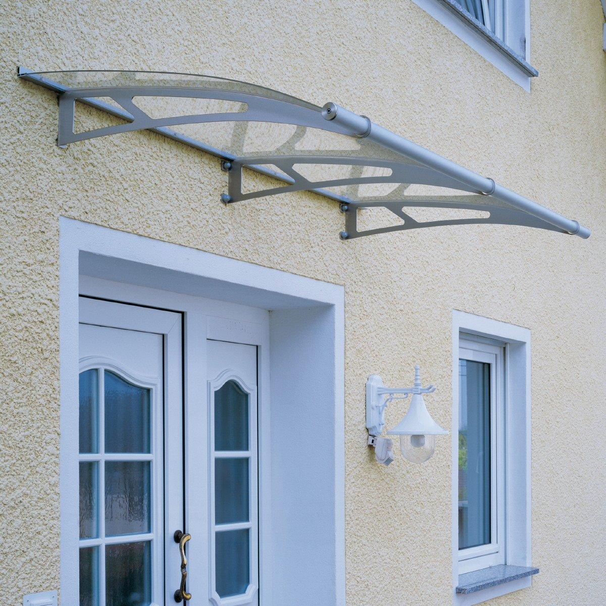 1.9m Door Canopy Clear
