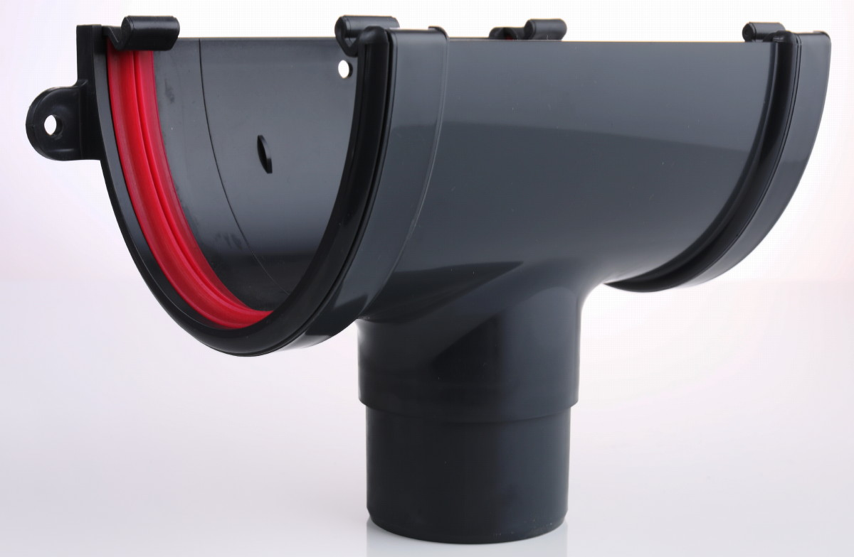 Anthracite Grey Guttering RAL 7016